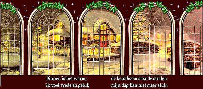 Kerst spirit Kerstgevoel